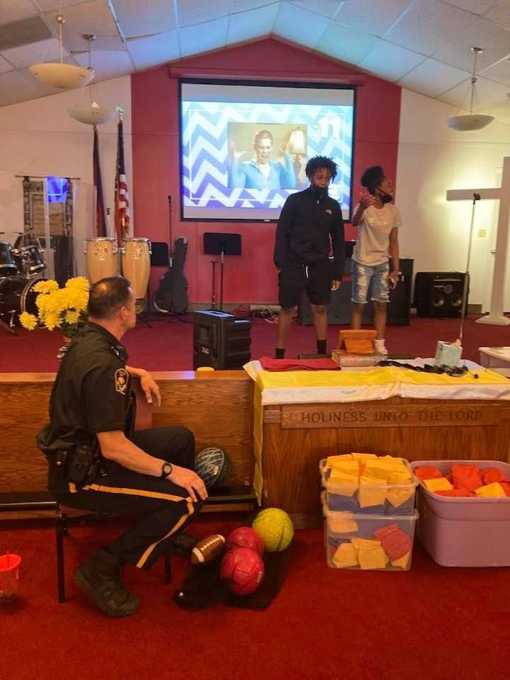 Too Good For Drugs and Violence Classes at Salvation Army