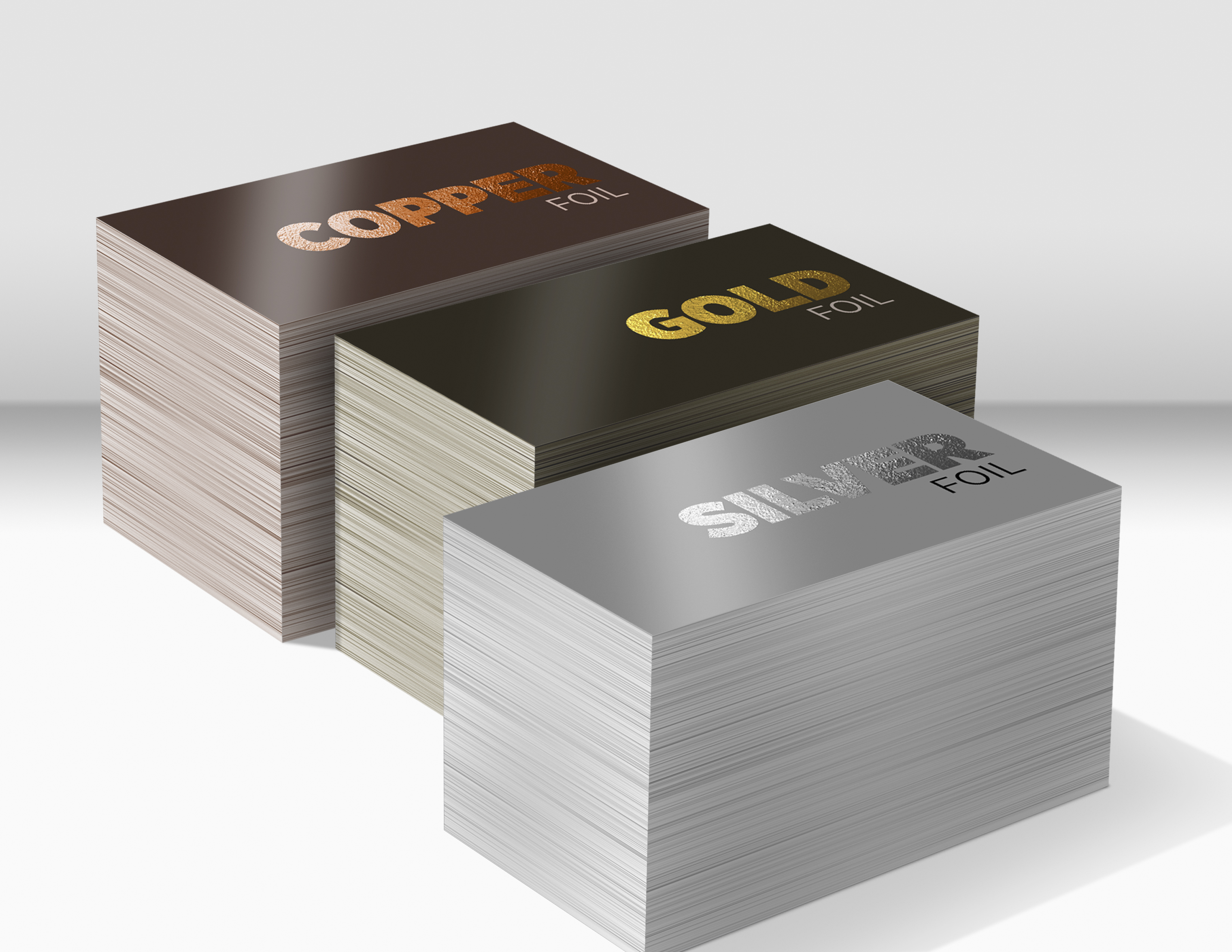 Foil Printed Business Cards