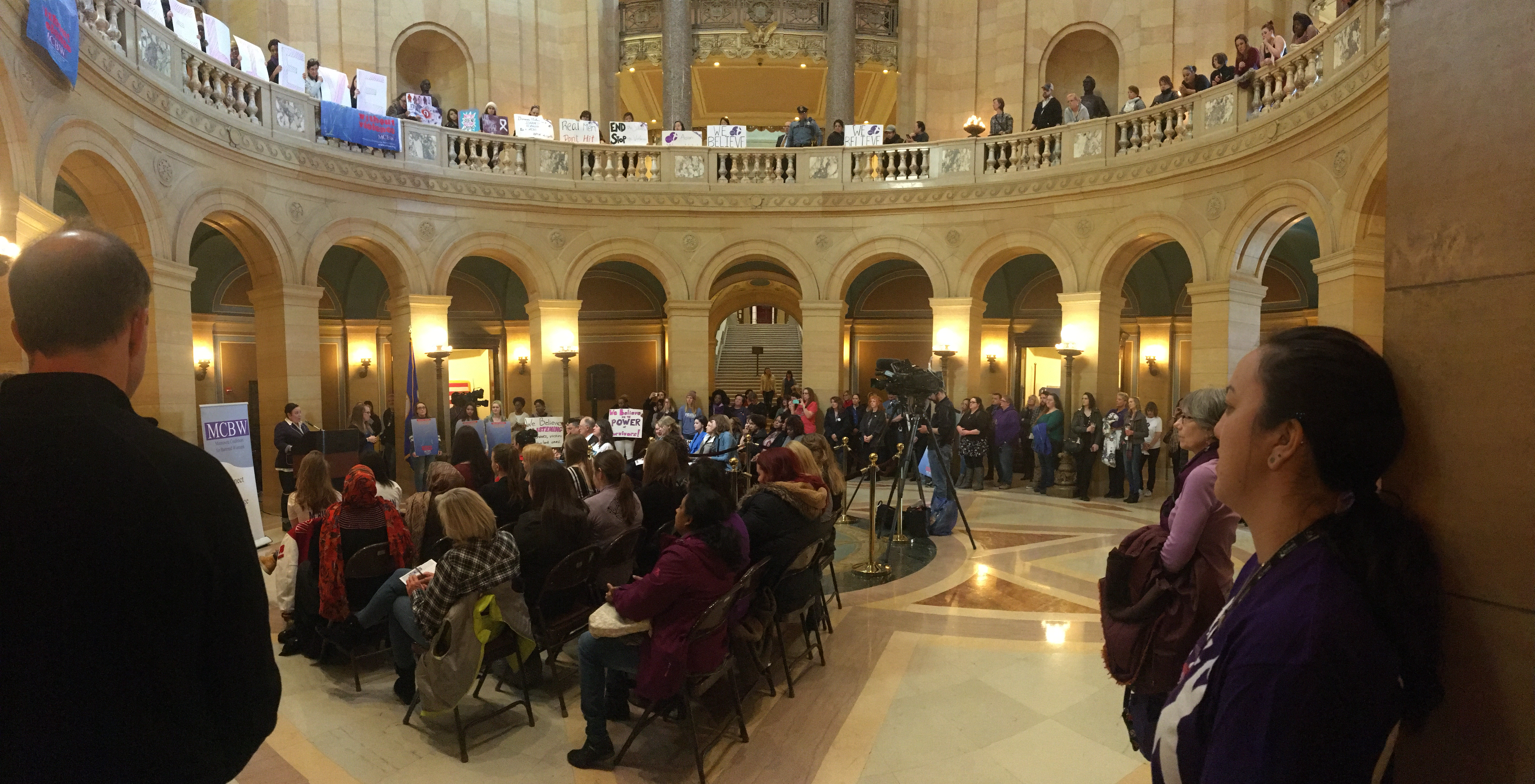 Rally at the capitol