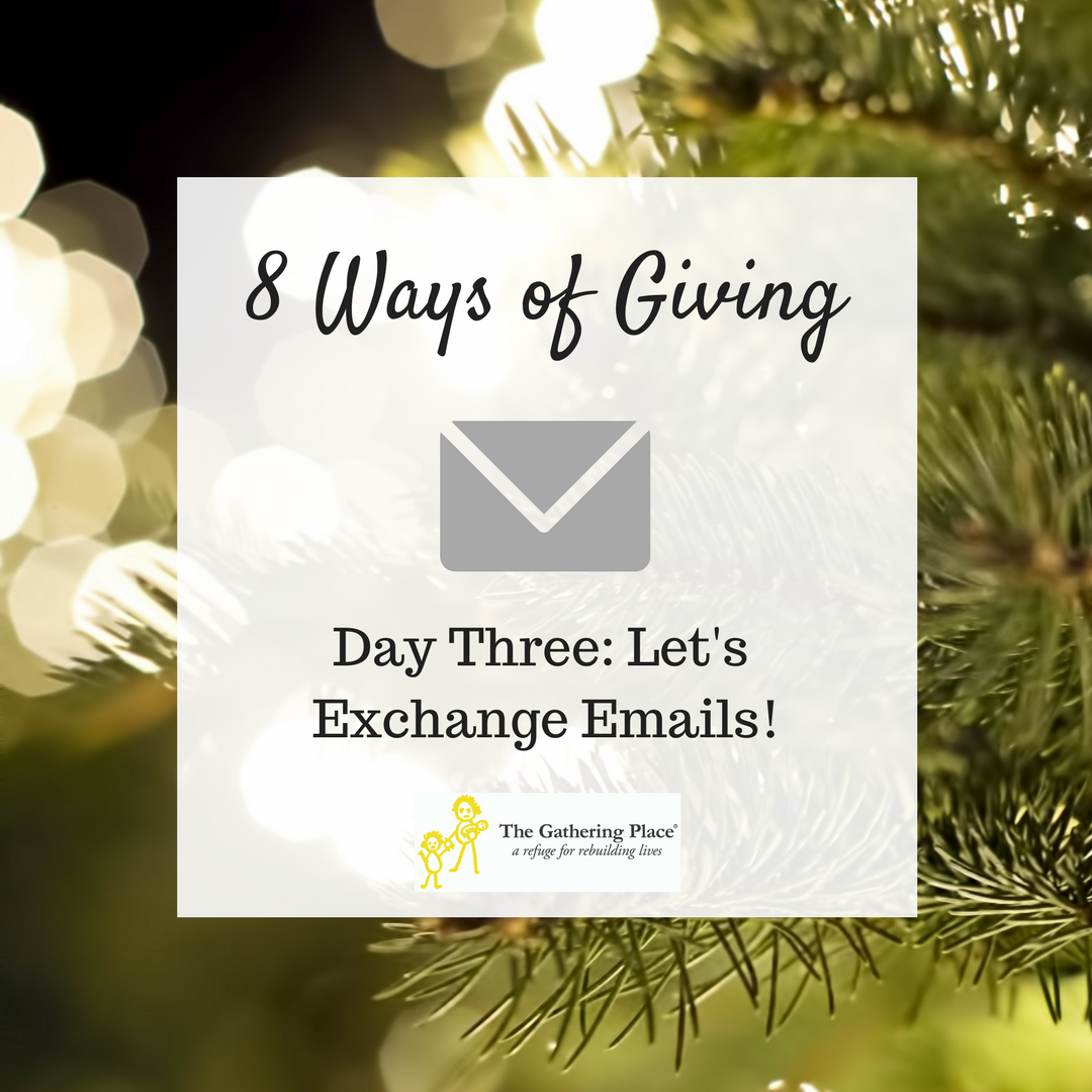 8 Ways of Giving: Day Three