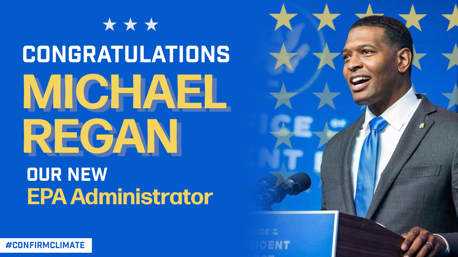 EEN Celebrates Michael Regan's Confirmation to the EPA