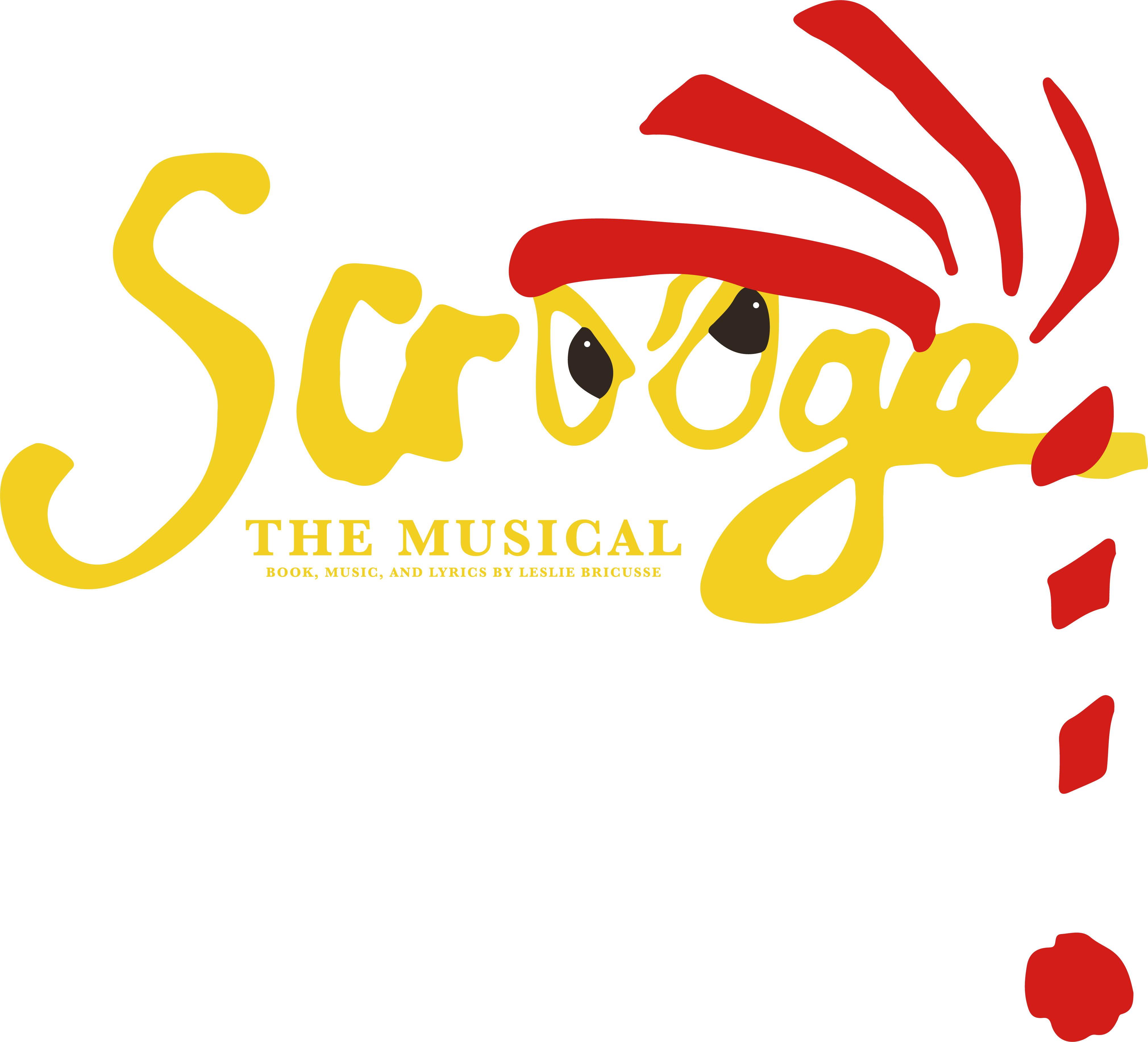 Get your tickets to SCROOGE, THE MUSICAL!