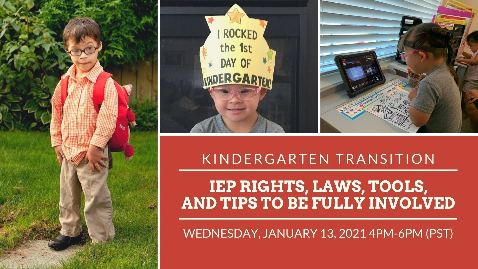 Kindergarten Transition: IEP Rights, laws, tools, and tips to be fully involved (Desplácese hacia abajo para obtener traducción en español)