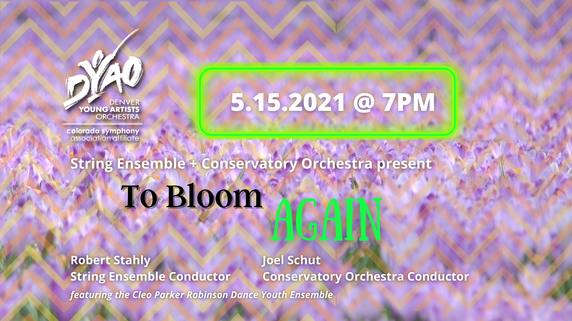 COSE Virtual Concert: To Bloom Again