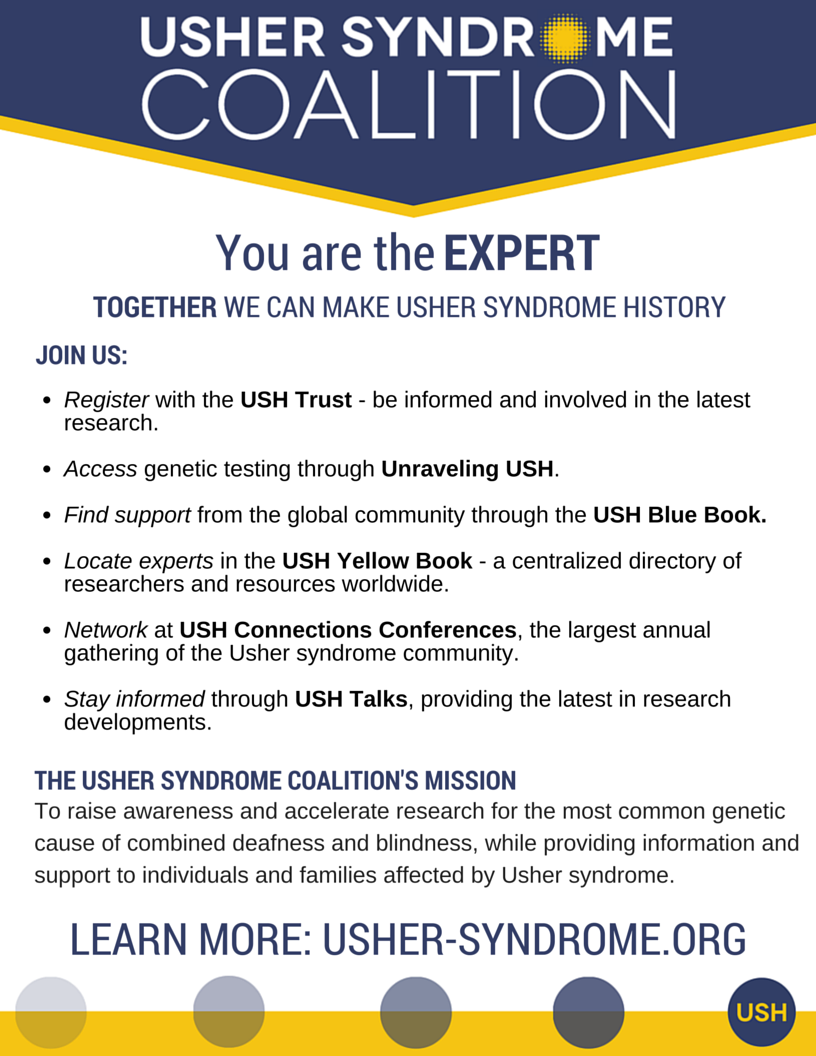 Usher Syndrome Coalition Flyer