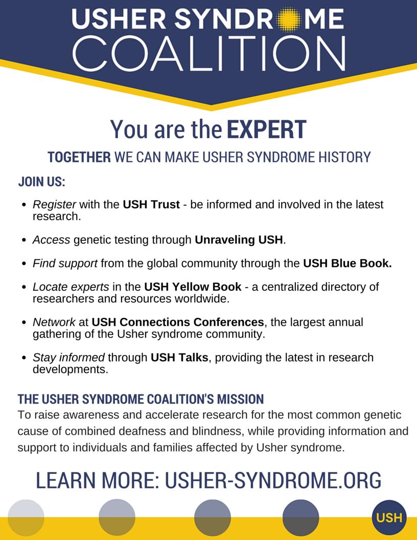 Usher Syndrome Coalition Flyer