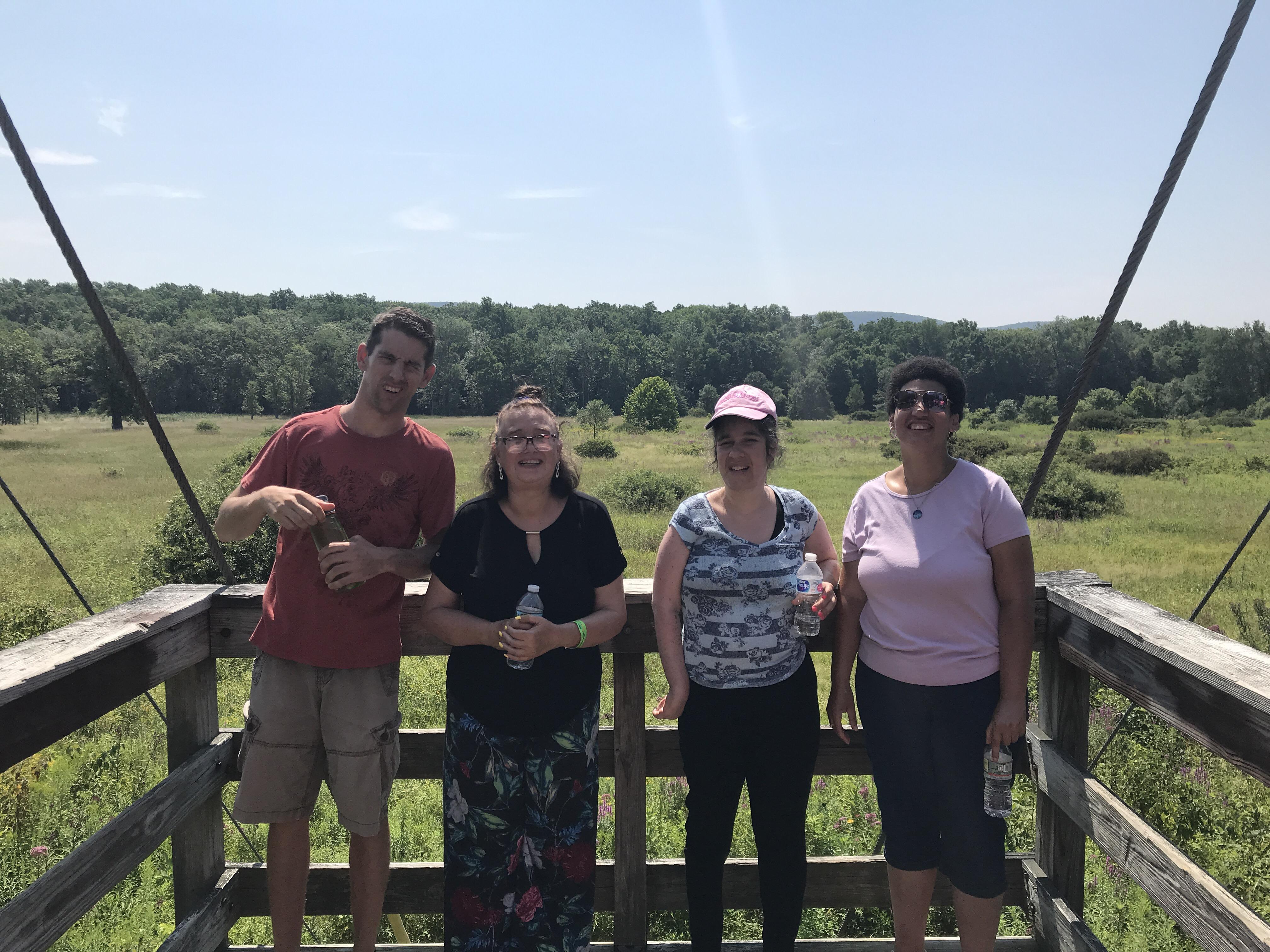 Appalachian Boardwalk Hike