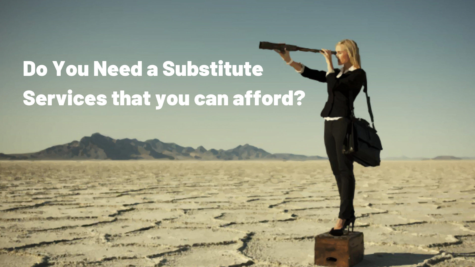 Substitute Services Information Meeting