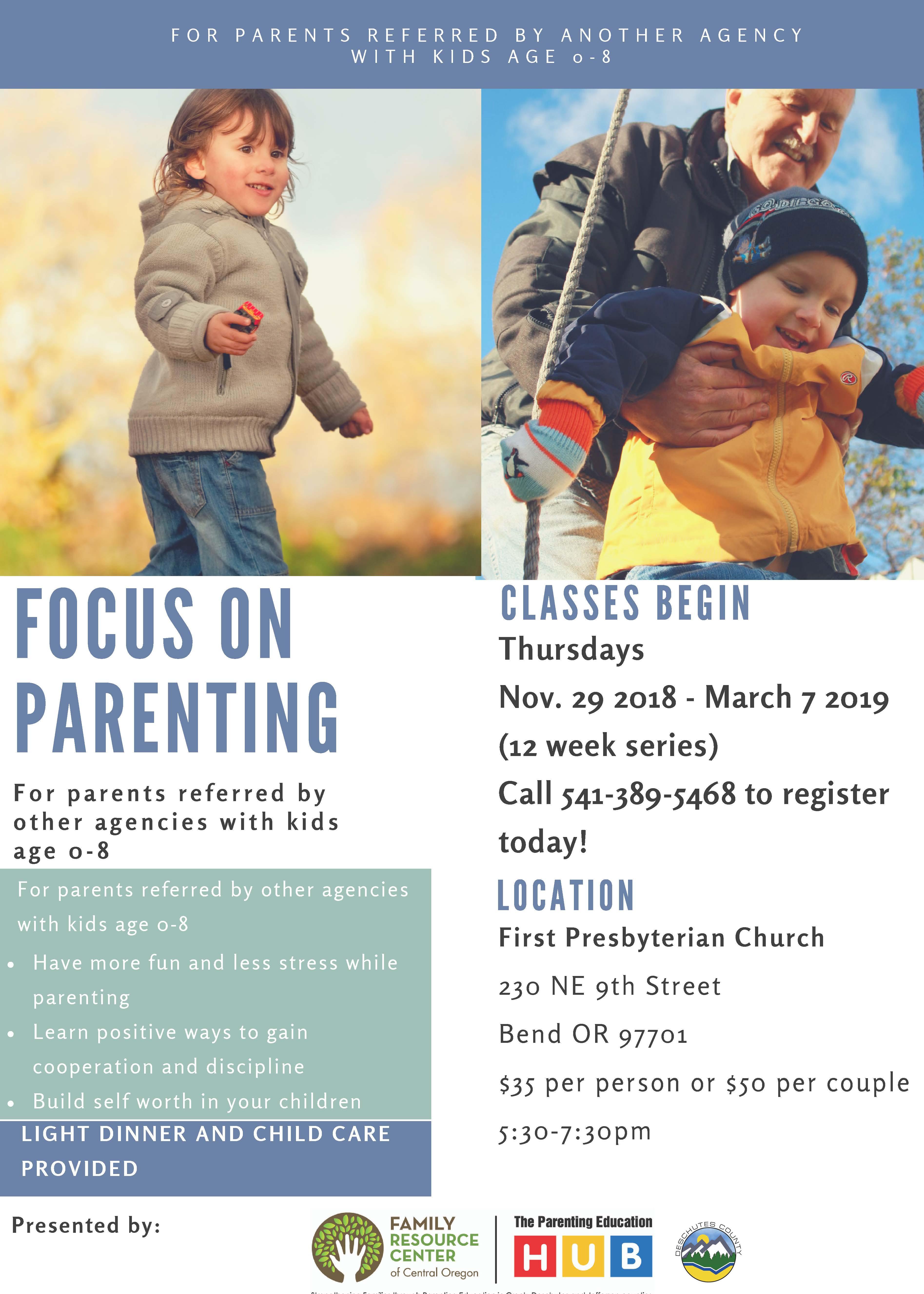 Family Resource Center of Central Oregon : Calendar & News : Calendar
