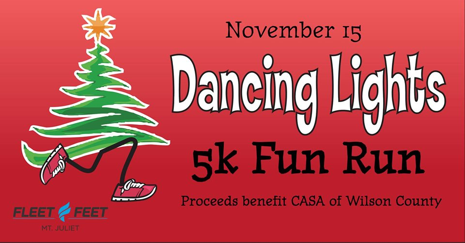 Wilson County CASA Dancing Lights 5K