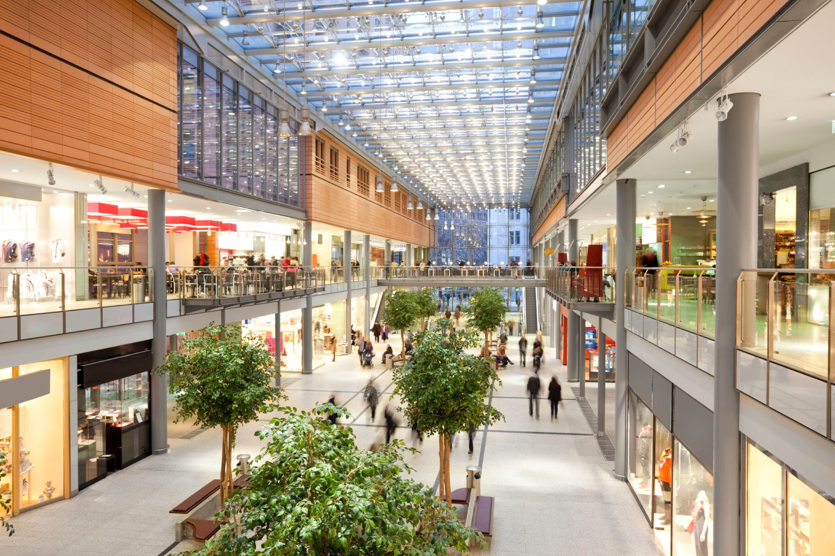 Retail & Shopping Centers:
