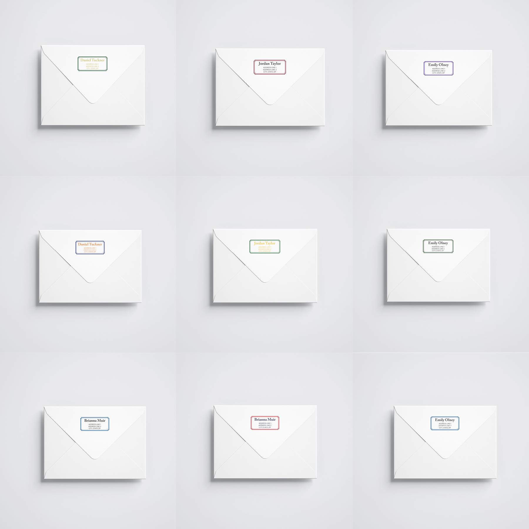 Personalized Graduation Envelopes