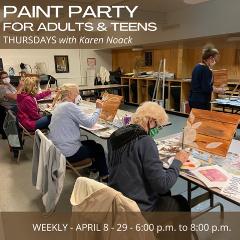 Paint Party for Teens & Adults (Ages 14 and Up)