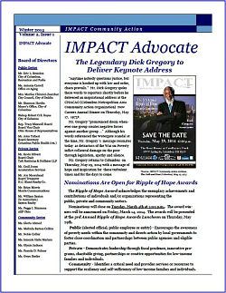 IMPACT Advocate~Winter 2014