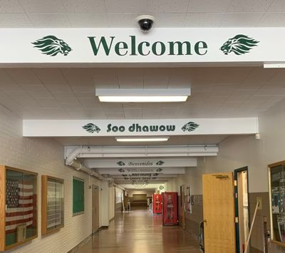 Borah High Welcome Signs