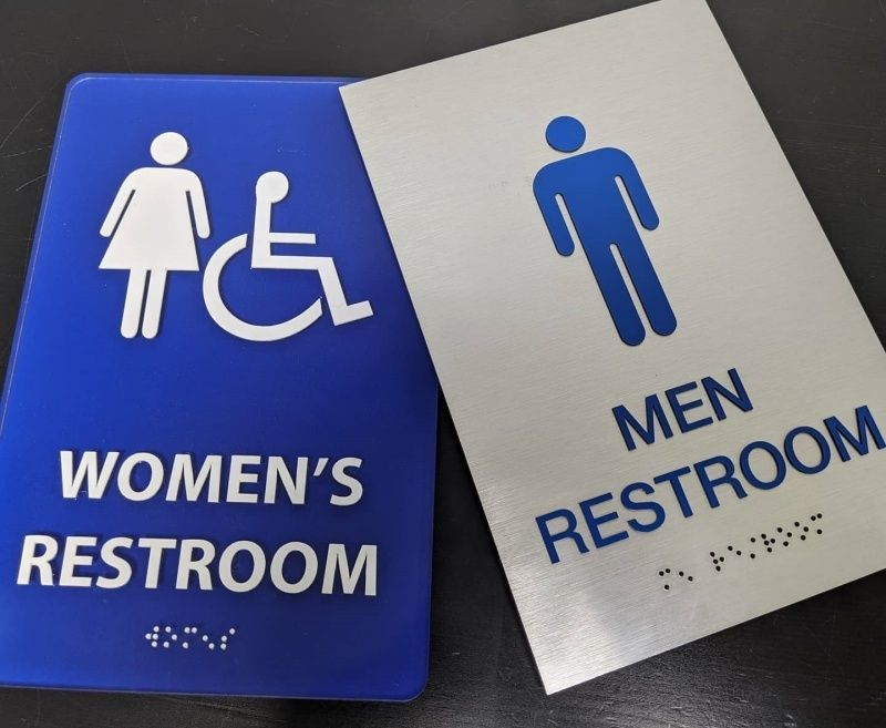 ADA Compliant Restroom Signs - Sign Partners - Sign Company Melbourne FL