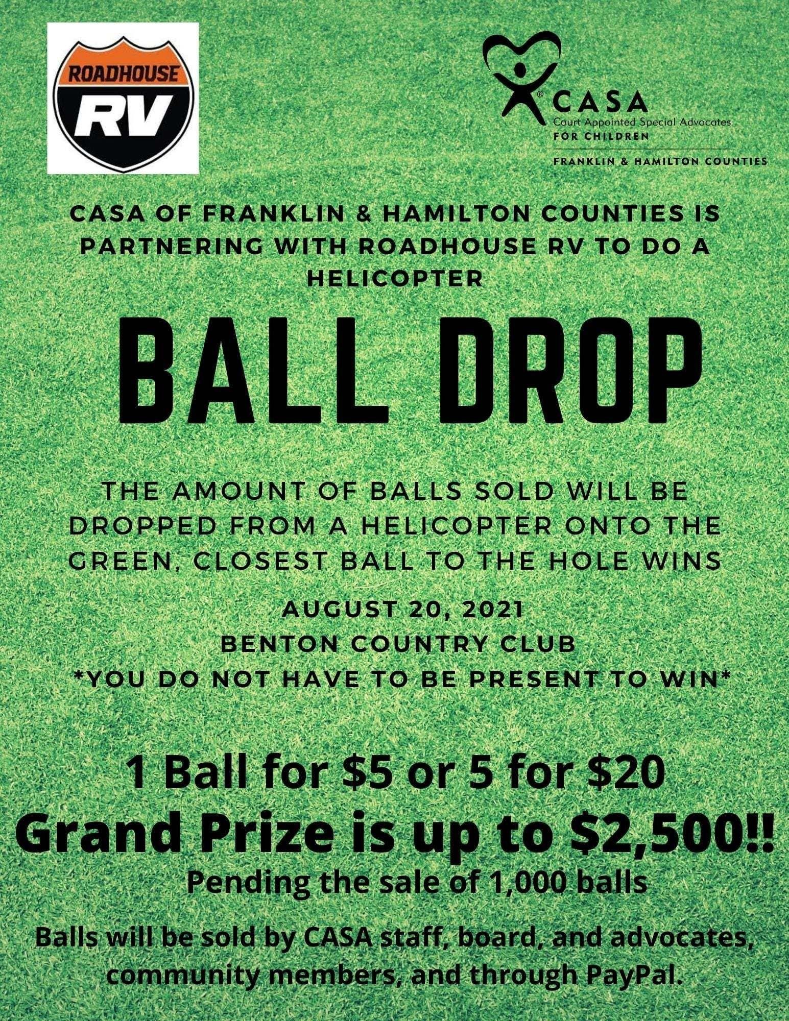Ball Drop Flyer