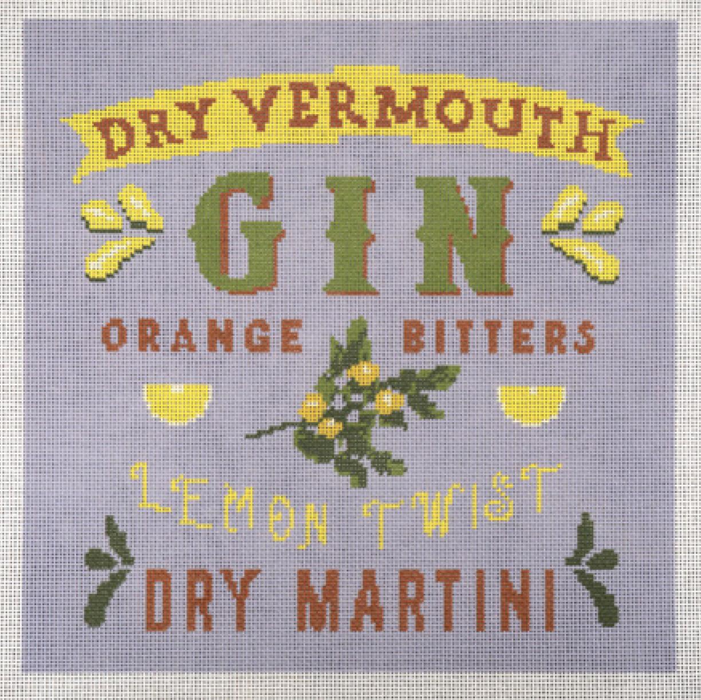 Gin Martini Lemon Twist