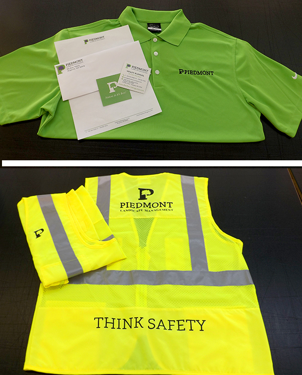 Piedmont Landscaping Promotional items