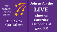 Please join us LIVE on October 2nd at 5:00 PM