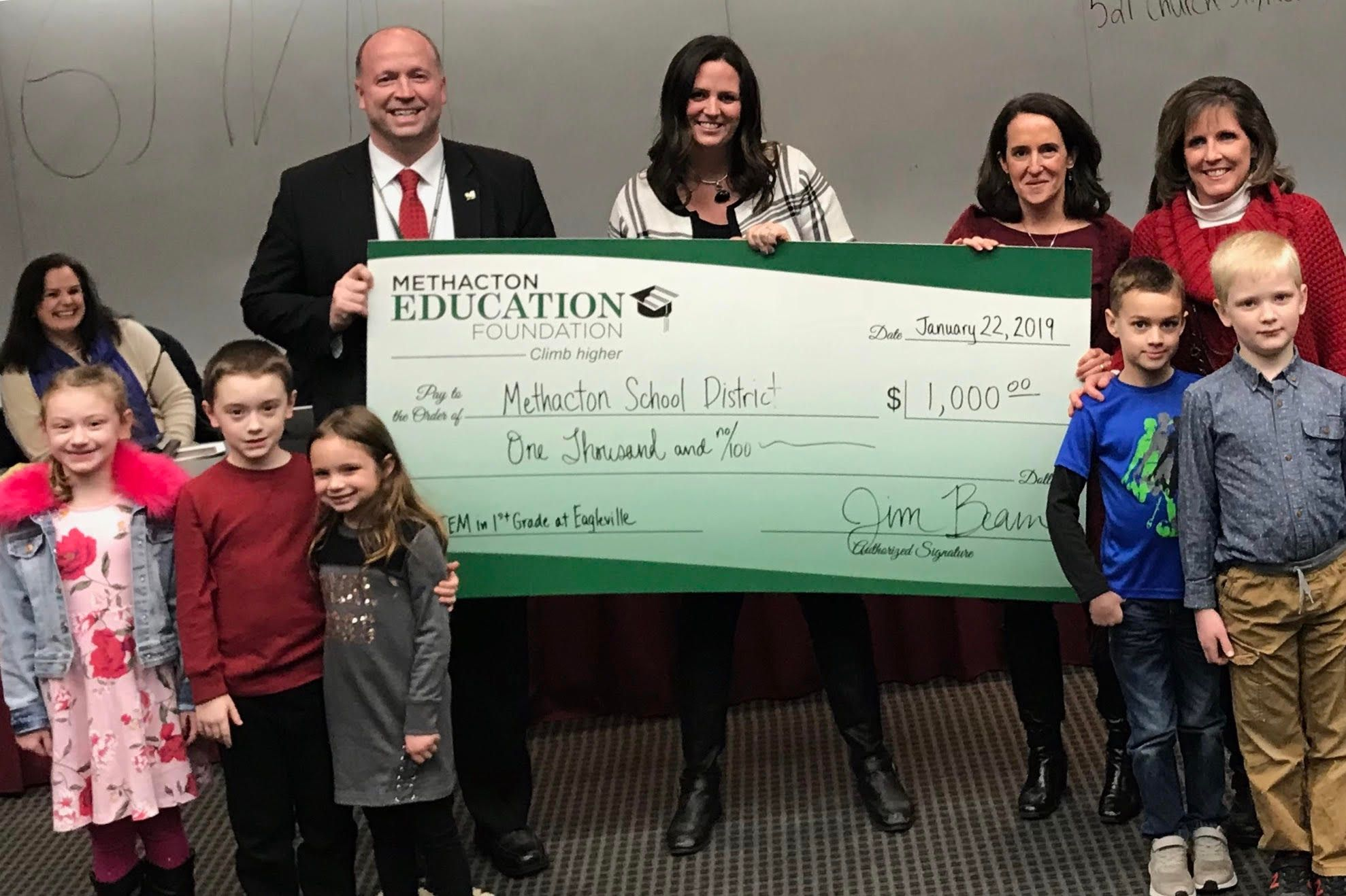 Foundation Awards $1,000 for STEM at Eagleville