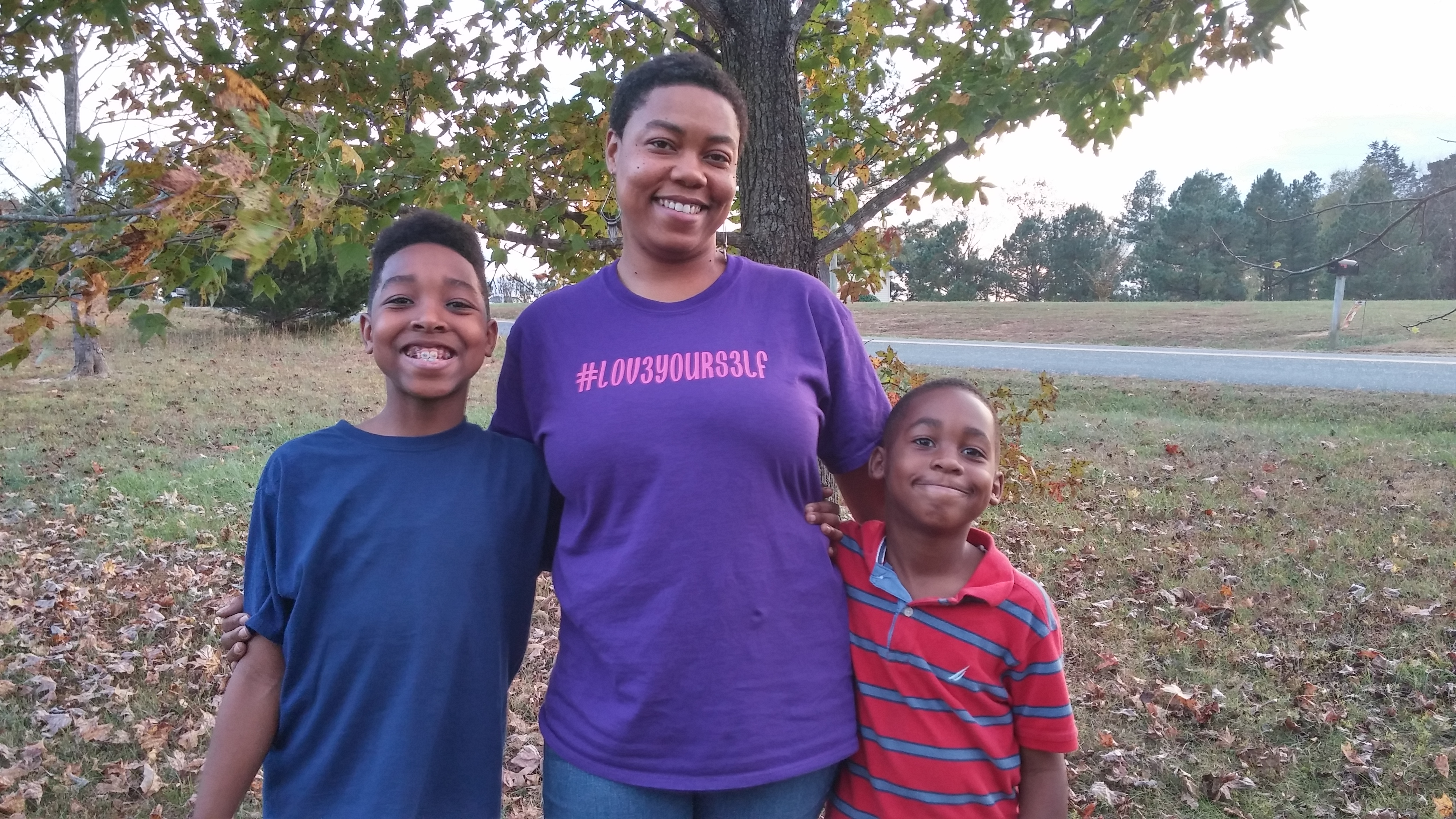 LaShonda and family
