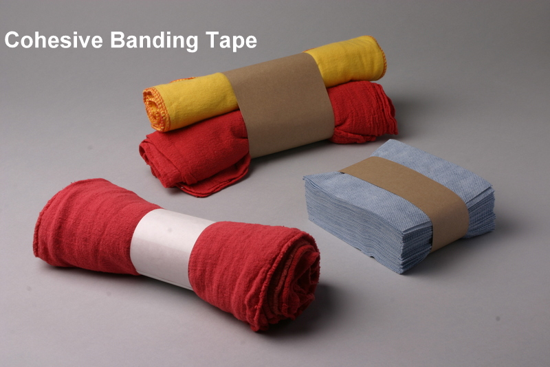 Cohesive Paper Bands
