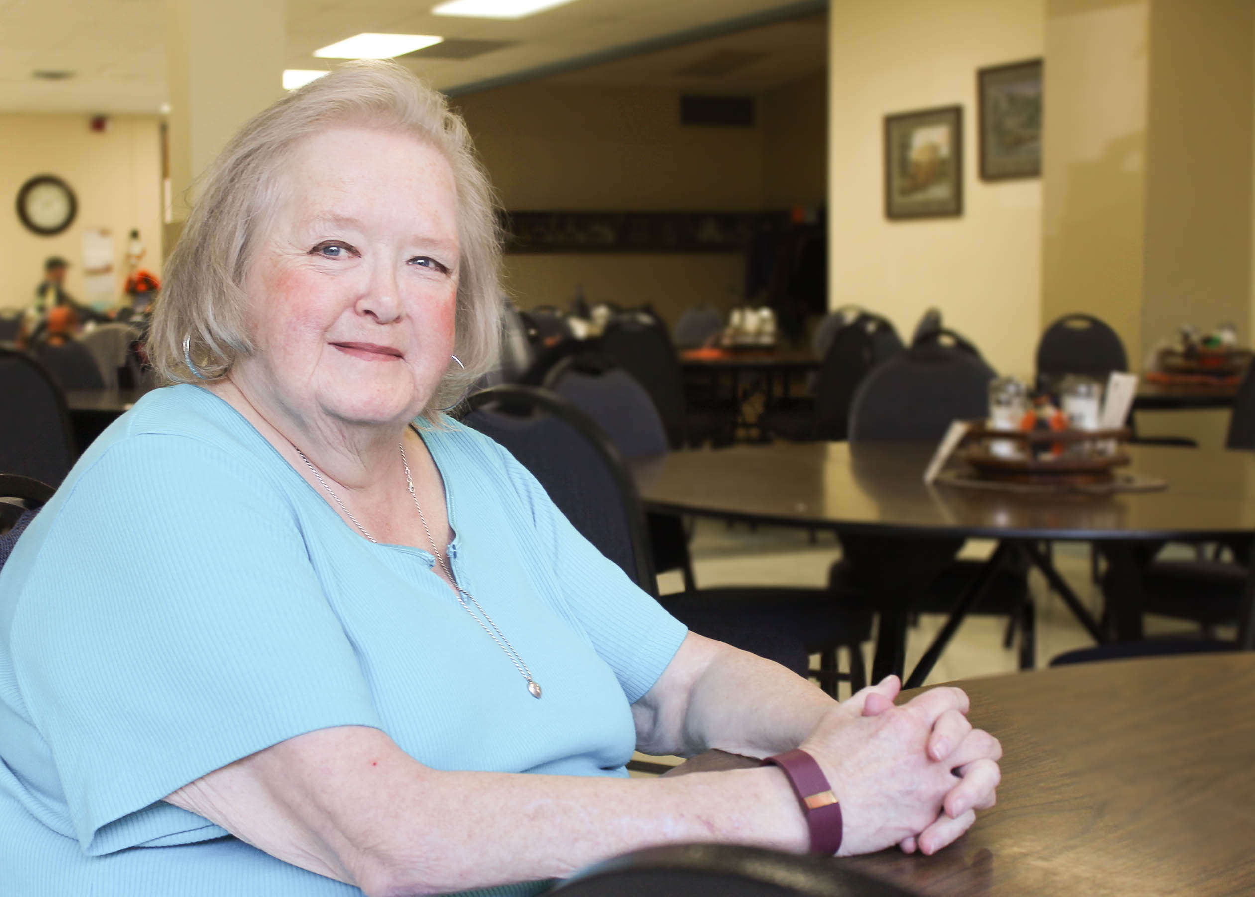Helena Senior Center Visit by Area IV Agency on Aging on July 24
