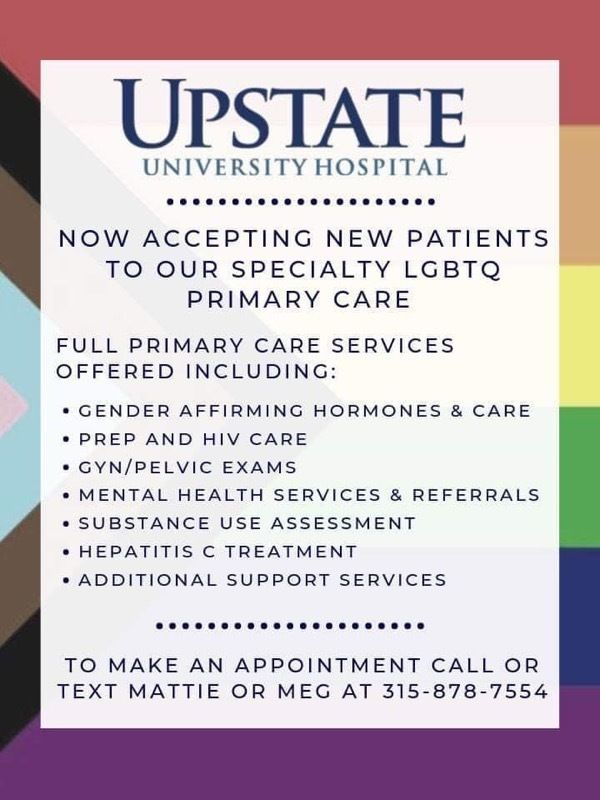 Upstate University Hospital Accepting New Patients