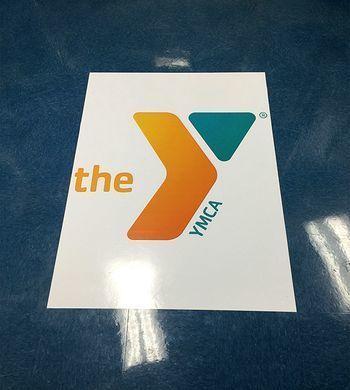 YMCA Floor Vinyl