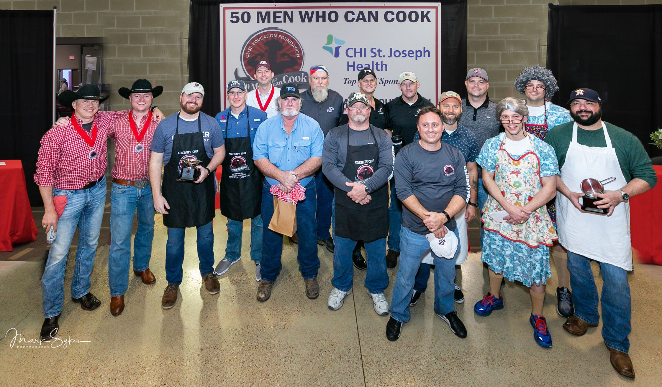 2019 50 Men Who Can Cook Winners