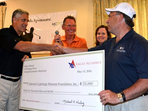 Eagle Alliance check presentation to NCMF