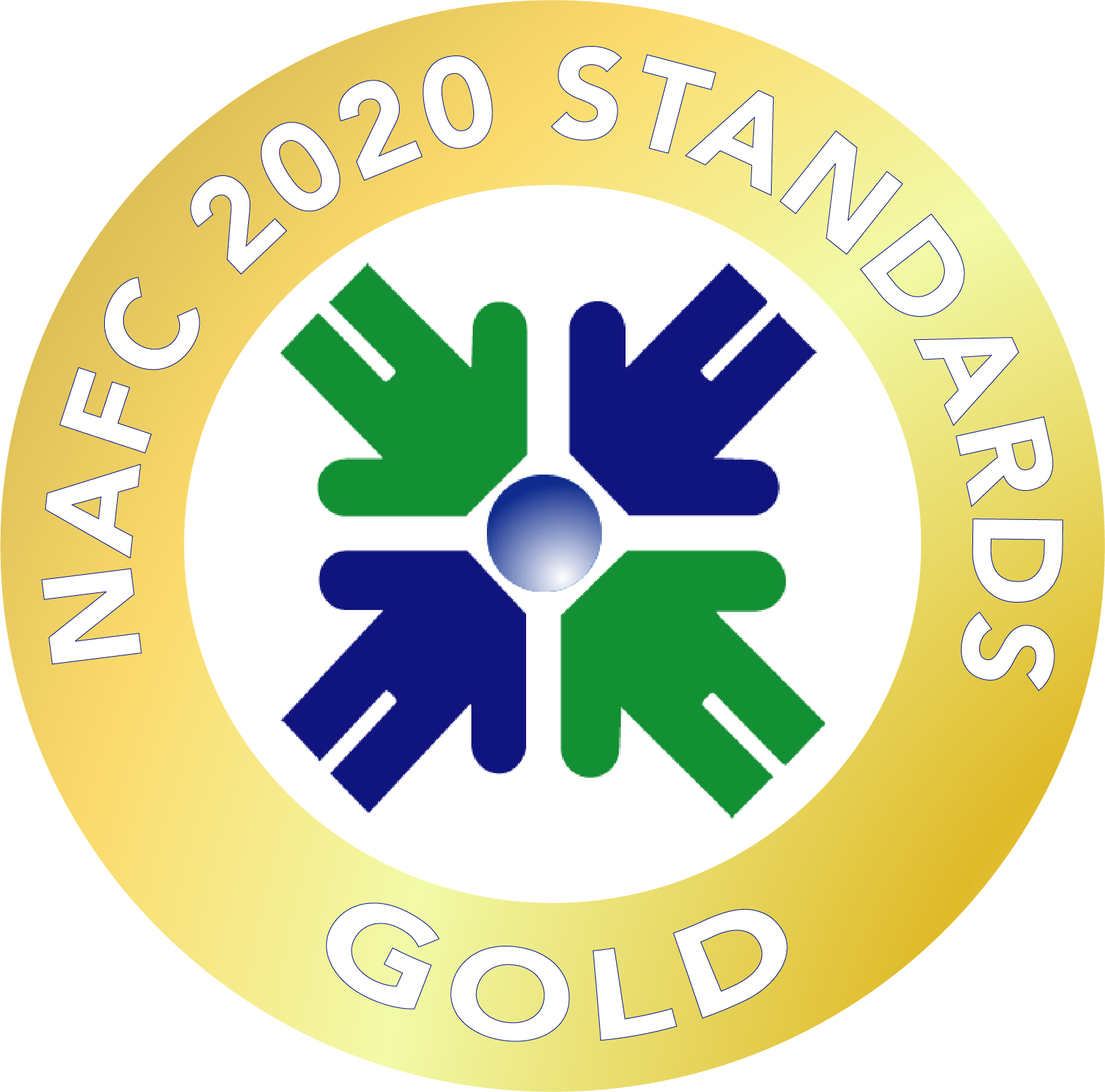 Interfaith Clinic earned a 2020 Gold Rating from the NAFC