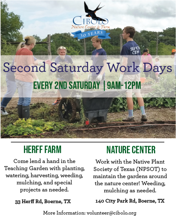 CNC/FARM: Second Saturday Community Service Day