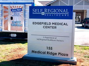 Edgefield Medical Center Location Sign
