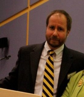 Dr. Steven Phillips speaking at WestConn event