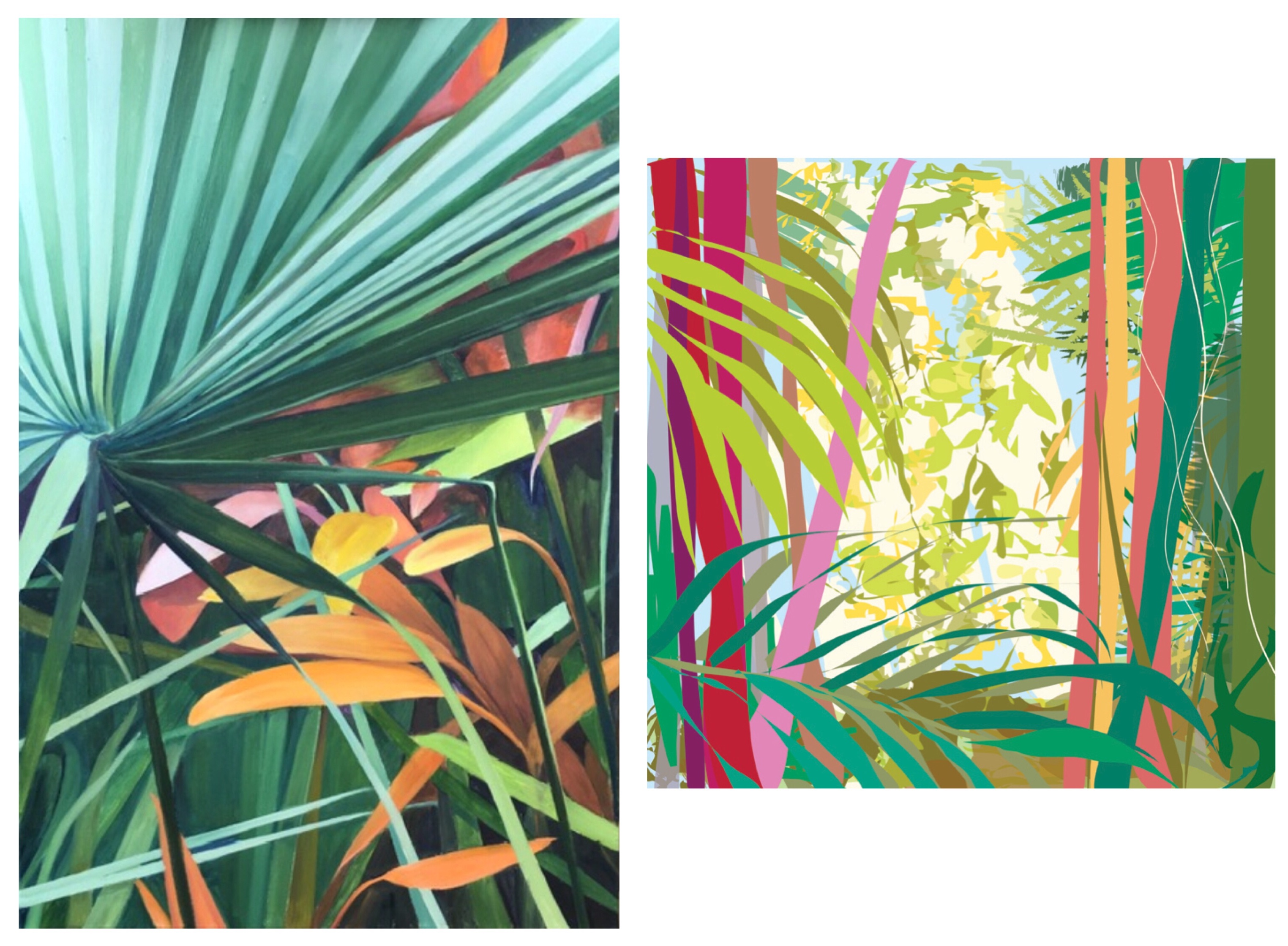 Botanicals: Colors and Curves of Nature