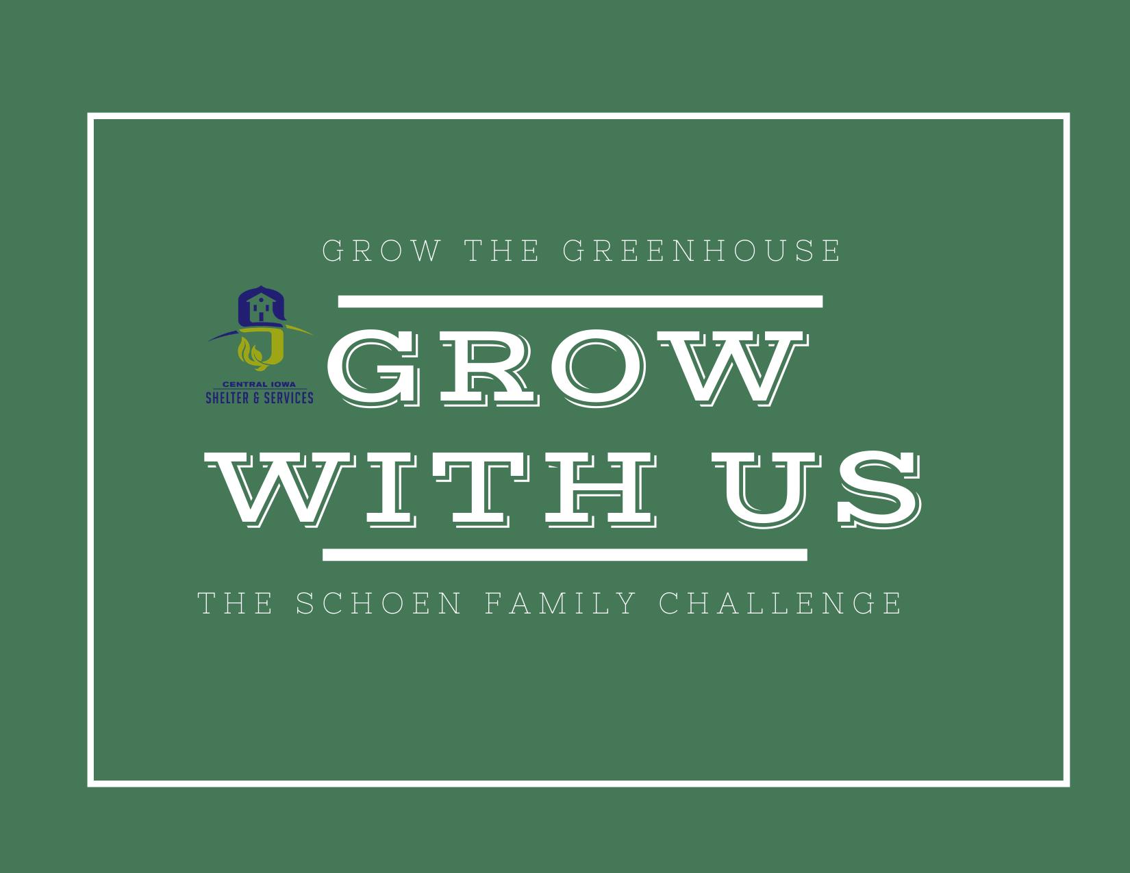 Grow The Greenhouse!