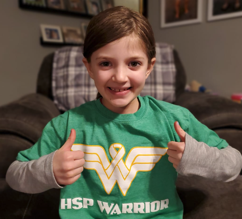 Adli is an 8-year old HSP Warrior!