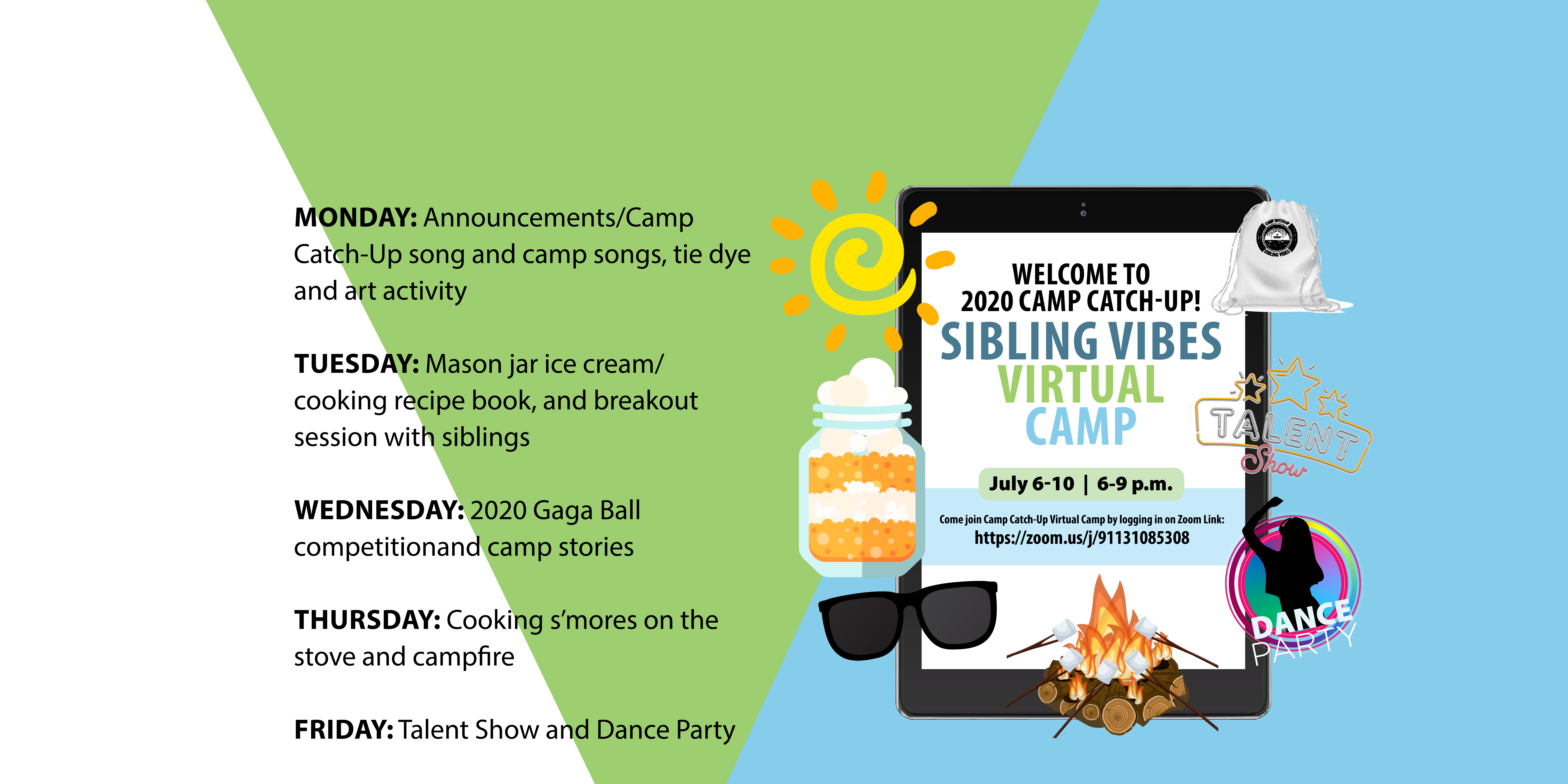 Join our virtual camp!