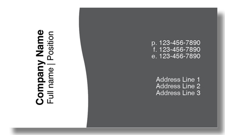 Model #028: Kwik Kopy Design and Print Centre Halifax Business Cards
