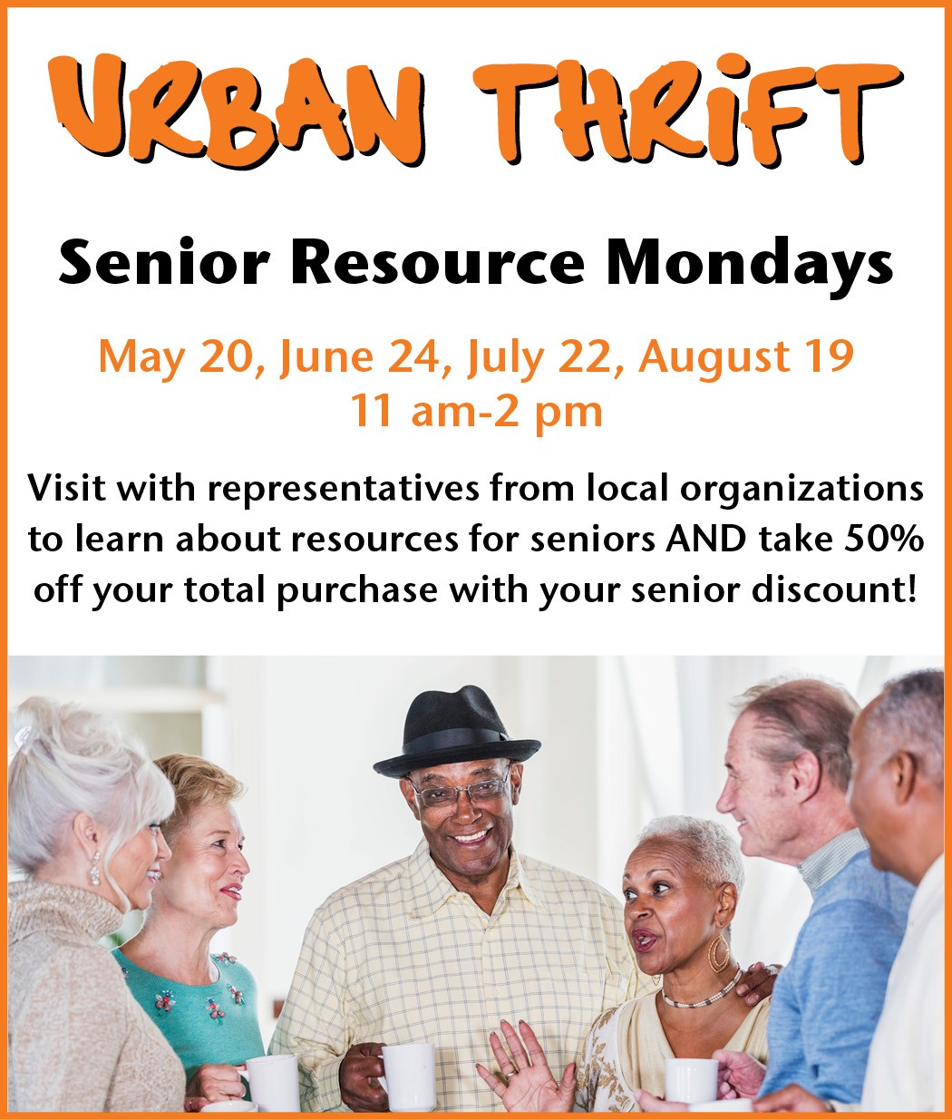 Urban Thrift – Senior Resource Monday