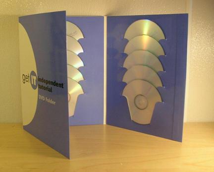 CD Literature Folders