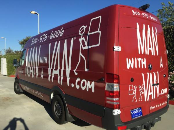 Fleet van wraps in Orange County CA