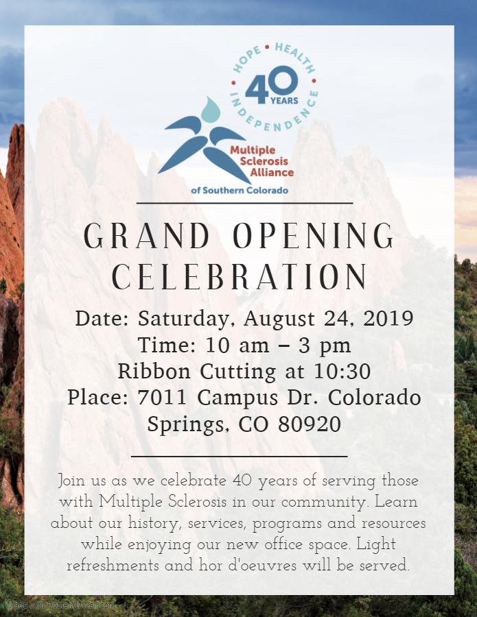 40th Anniversary Grand Opening Celebration