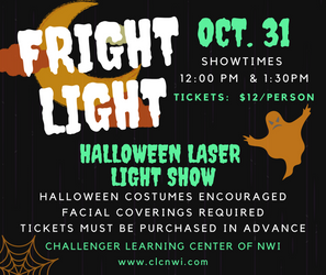 Fright Light Laser Show, Oct. 31st - SOLD OUT