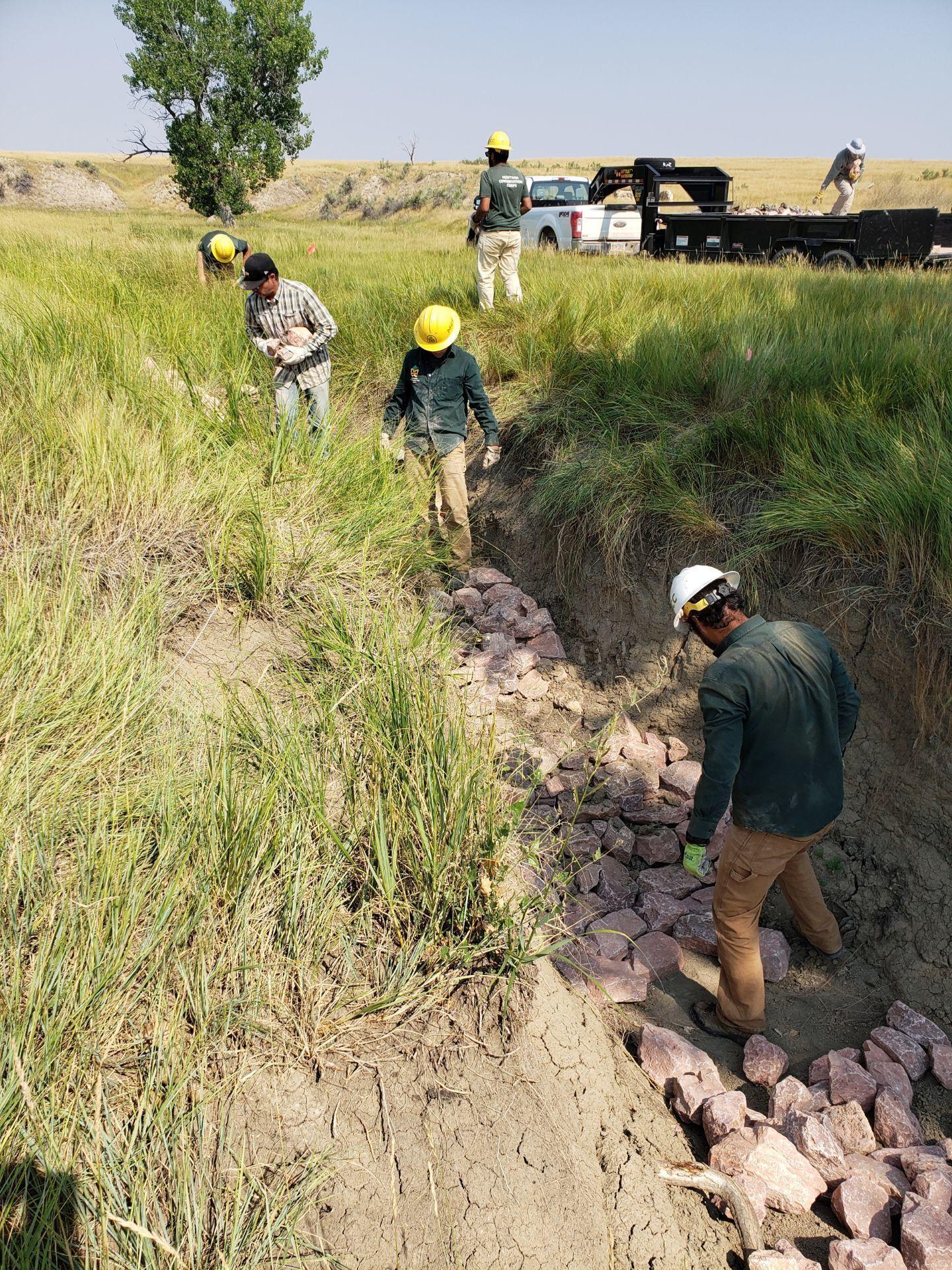 Building Mesic Dams in South Dakota