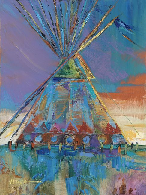 """""""Blue Breeze,"""" by Carol Hagan will be available at Art in the Beartooths online auction"""