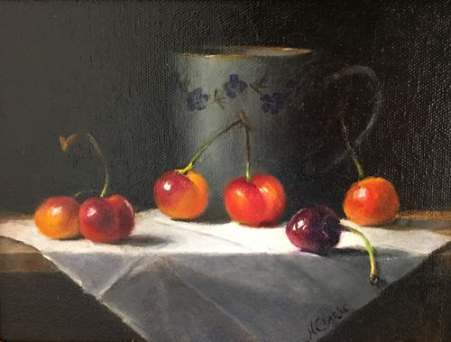 """People's Choice Award Third Place - """"Cherries"""""""
