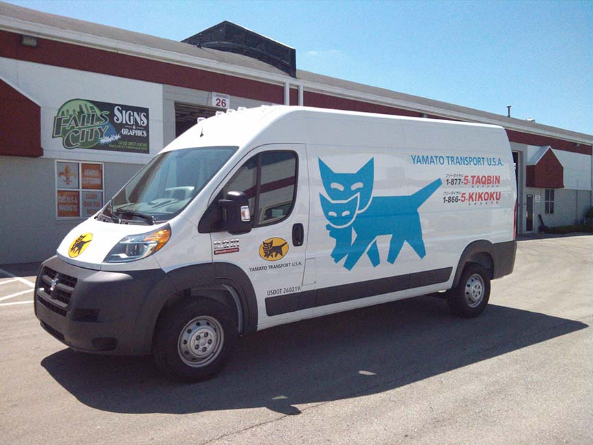 Falls City Signs Graphics Vehicle Car Wraps Graphics Decals